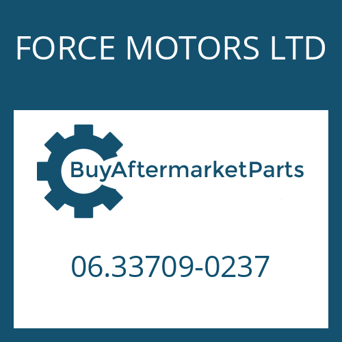 FORCE MOTORS LTD 06.33709-0237 - NEEDLE CAGE