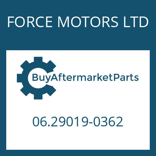 FORCE MOTORS LTD 06.29019-0362 - CIRCLIP