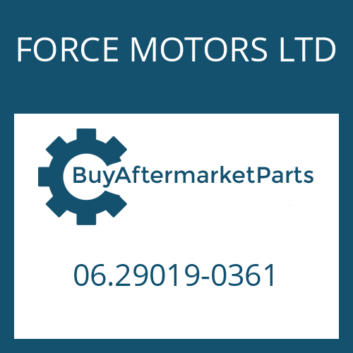 FORCE MOTORS LTD 06.29019-0361 - CIRCLIP