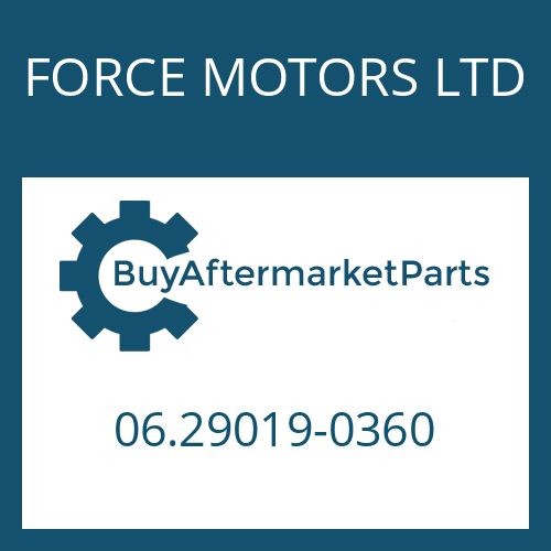 FORCE MOTORS LTD 06.29019-0360 - CIRCLIP