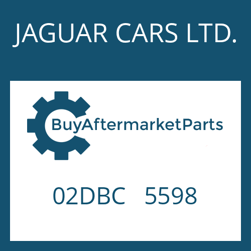 JAGUAR CARS LTD. 02DBC   5598 - CONTROL UNIT
