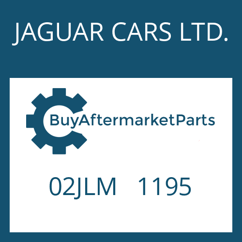 JAGUAR CARS LTD. 02JLM   1195 - SLOT. PIN