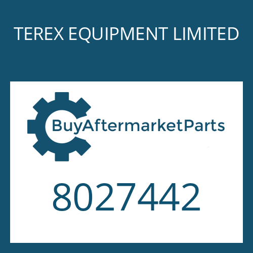 TEREX EQUIPMENT LIMITED 8027442 - SHIM