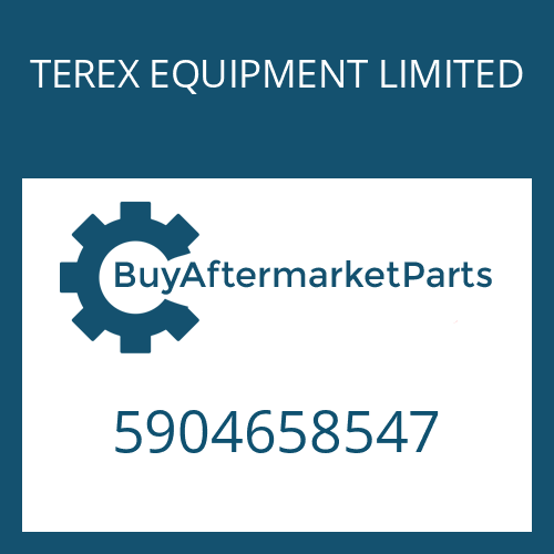 TEREX EQUIPMENT LIMITED 5904658547 - WASHER