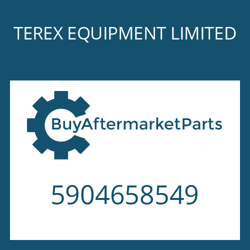 TEREX EQUIPMENT LIMITED 5904658549 - WASHER