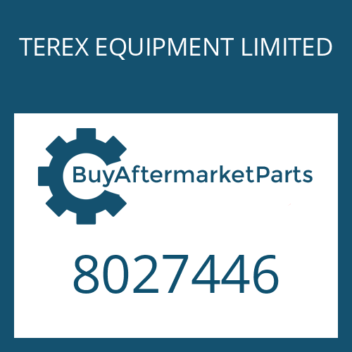TEREX EQUIPMENT LIMITED 8027446 - SHIM