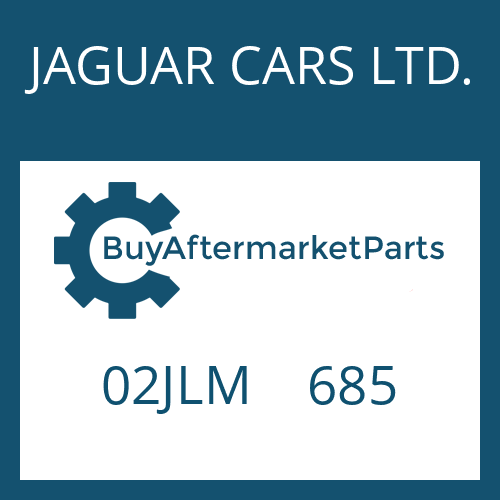 JAGUAR CARS LTD. 02JLM    685 - WASHER