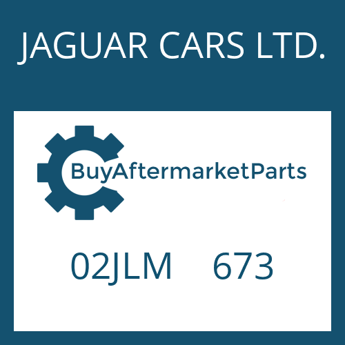 JAGUAR CARS LTD. 02JLM    673 - WASHER
