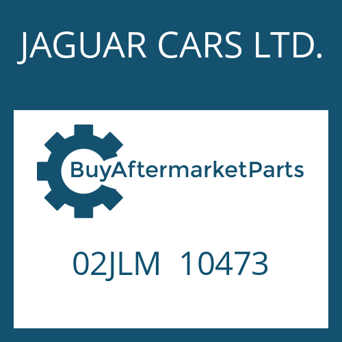 JAGUAR CARS LTD. 02JLM  10473 - ROUND SEALING RING