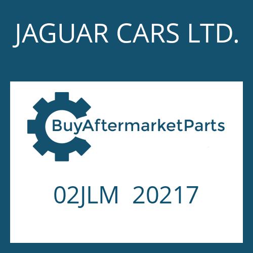 JAGUAR CARS LTD. 02JLM  20217 - ROUND SEALING RING