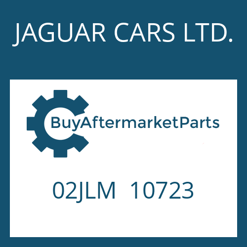 JAGUAR CARS LTD. 02JLM  10723 - SHAFT SEAL