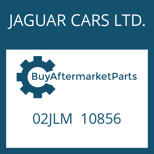 JAGUAR CARS LTD. 02JLM  10856 - WELLENDICHTRING