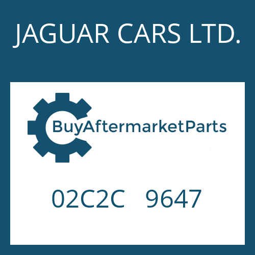 JAGUAR CARS LTD. 02C2C   9647 - USIT RING