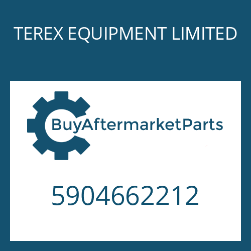 TEREX EQUIPMENT LIMITED 5904662212 - TA.ROLLER BEARING