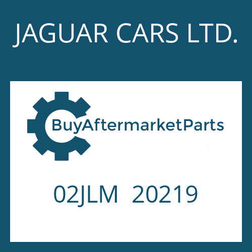 JAGUAR CARS LTD. 02JLM  20219 - SOLENOID VALVE