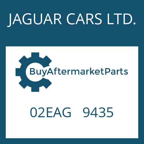 JAGUAR CARS LTD. 02EAG   9435 - CONTROL UNIT