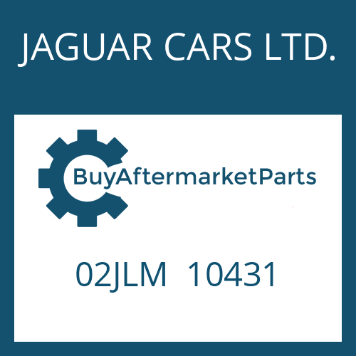 JAGUAR CARS LTD. 02JLM  10431 - DISC CARRIER