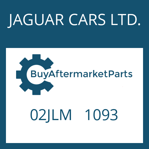 JAGUAR CARS LTD. 02JLM   1093 - CYLINDER