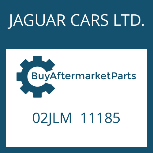 JAGUAR CARS LTD. 02JLM  11185 - BELAGLAMELLE