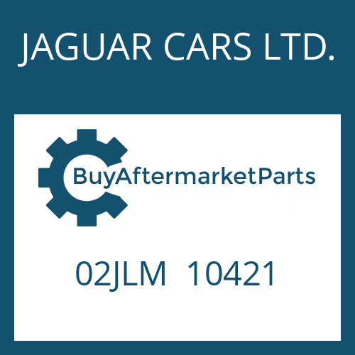 JAGUAR CARS LTD. 02JLM  10421 - FRICTION PLATE