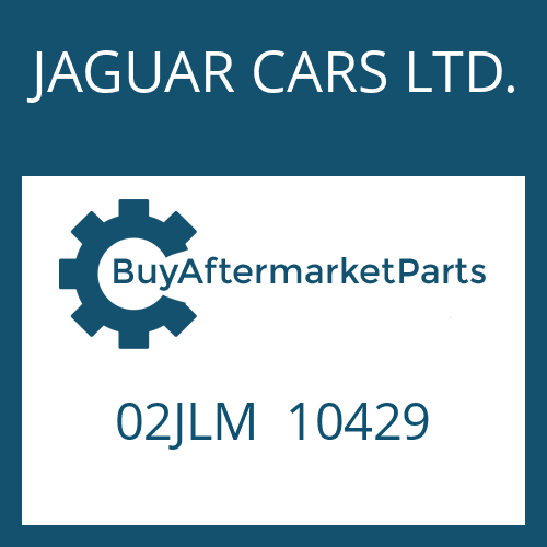 JAGUAR CARS LTD. 02JLM  10429 - COUPLING