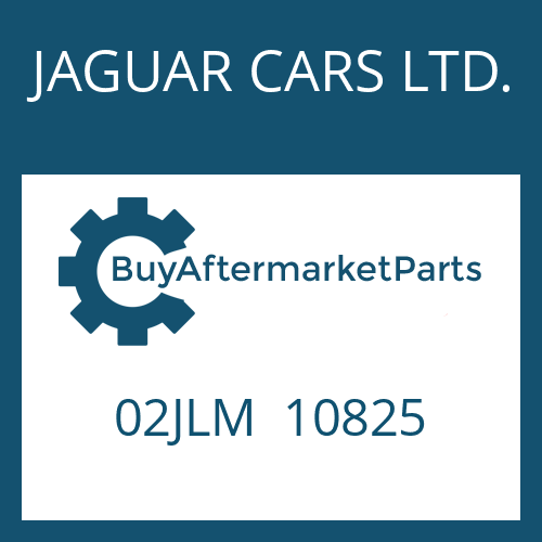 JAGUAR CARS LTD. 02JLM  10825 - AUSSENLAMELLE