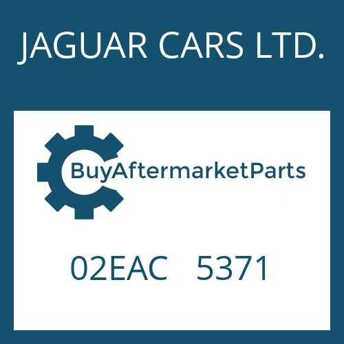 JAGUAR CARS LTD. 02EAC   5371 - WANDLERGLOCKE
