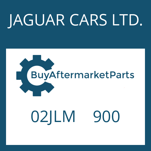 JAGUAR CARS LTD. 02JLM    900 - THRUST WASHER