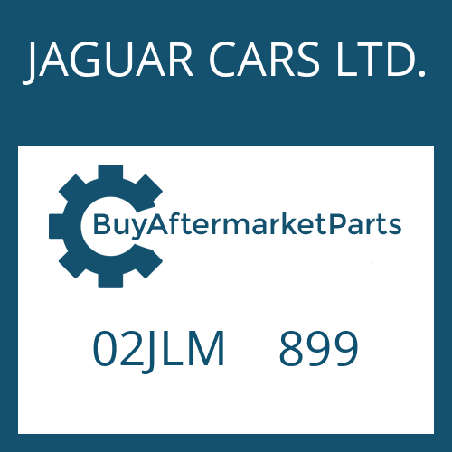 JAGUAR CARS LTD. 02JLM    899 - AXIAL WASHER