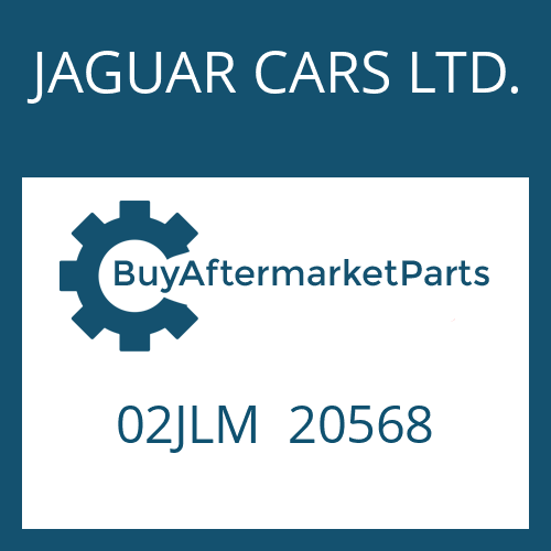 JAGUAR CARS LTD. 02JLM  20568 - VERLAENGERUNG
