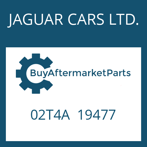 JAGUAR CARS LTD. 02T4A  19477 - WANDLER