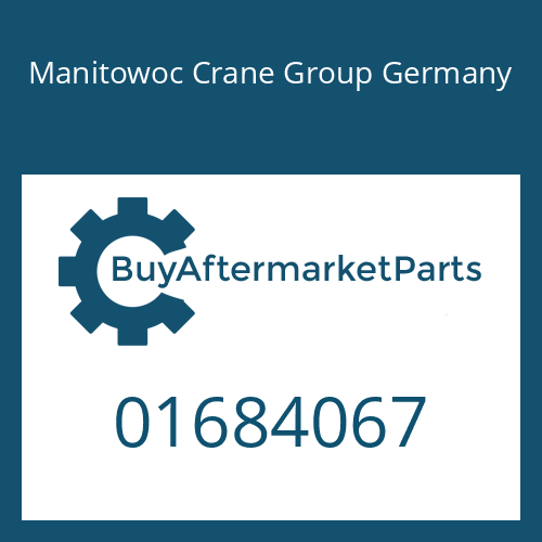 Manitowoc Crane Group Germany 01684067 - SHIFT LEVER