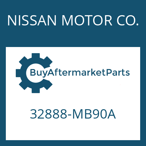 NISSAN MOTOR CO. 32888-MB90A - DRIVER