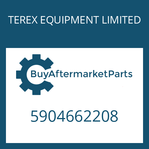 TEREX EQUIPMENT LIMITED 5904662208 - TUBE