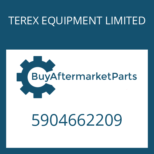 TEREX EQUIPMENT LIMITED 5904662209 - BRAKE HOUSING