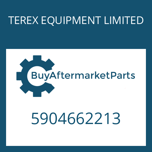 TEREX EQUIPMENT LIMITED 5904662213 - OUTPUT SHAFT