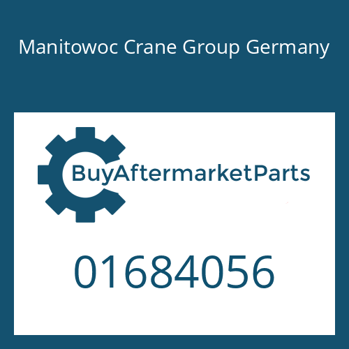 Manitowoc Crane Group Germany 01684056 - GEARSHIFT SHAFT