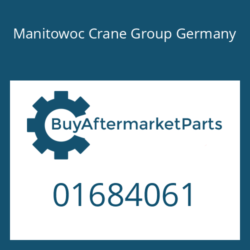 Manitowoc Crane Group Germany 01684061 - SPEEDO SHAFT