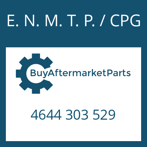 E. N. M. T. P. / CPG 4644 303 529 - THRUST WASHER
