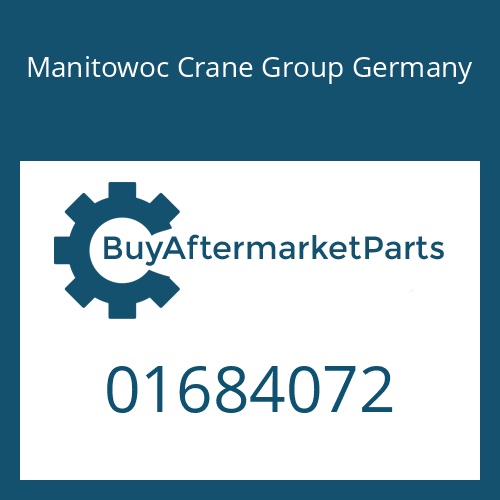 Manitowoc Crane Group Germany 01684072 - NEBENABTR.GEH.