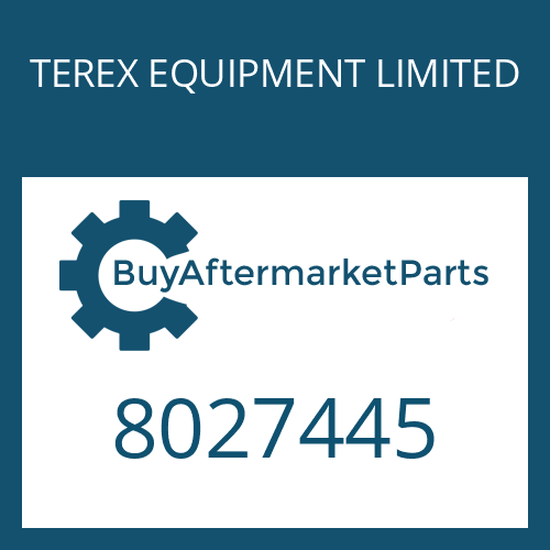 TEREX EQUIPMENT LIMITED 8027445 - SHIM