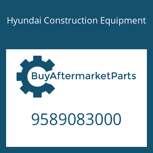 Hyundai Construction Equipment 9589083000 - EST 18