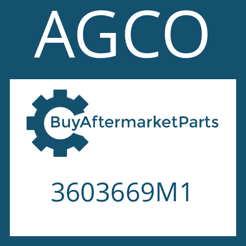 AGCO 3603669M1 - AXIAL JOINT