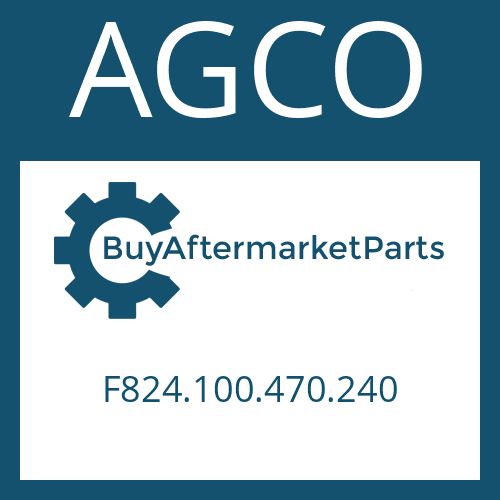 AGCO F824.100.470.240 - SUCTION FILTER