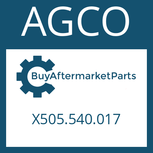 AGCO X505.540.017 - CYLINDRICAL PIN