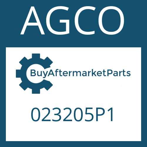 AGCO 023205P1 - CYLINDRICAL PIN