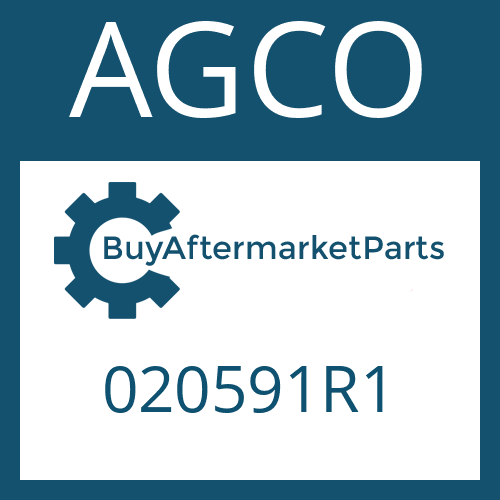 AGCO 020591R1 - SLOTTED PIN
