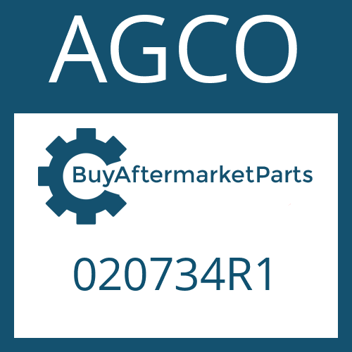 AGCO 020734R1 - HEXAGON SCREW