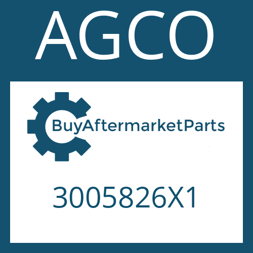 AGCO 3005826X1 - HEXAGON NUT
