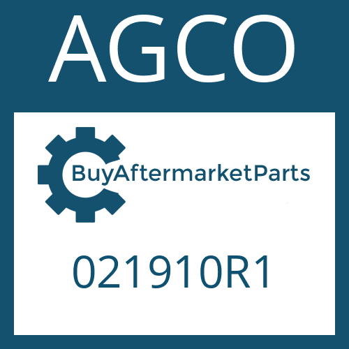 AGCO 021910R1 - WASHER